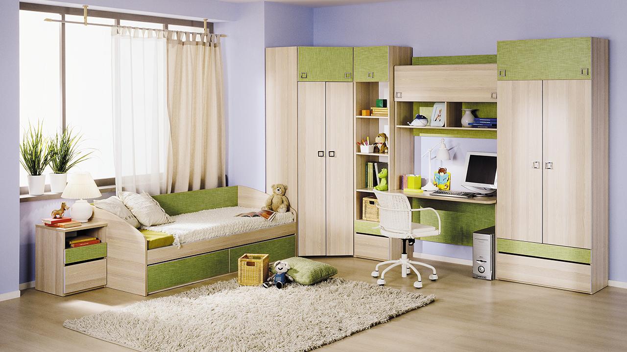 мебель в детской комнате фото